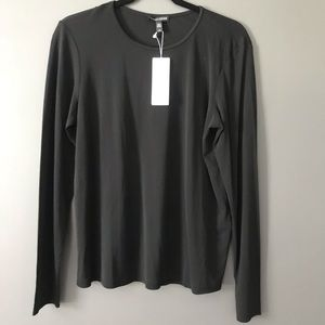 Eileen Fisher Stretch Silk Jersey Shirt